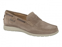 Chaussure mephisto lacets modele gino beige