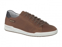 Chaussure mephisto mocassins modele rufo cuir gras noisette