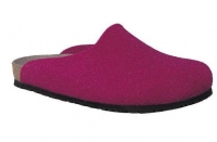 Chaussure mephisto Compensée modele yin feutrine rose fuchsia