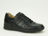 Chaussure mephisto mocassins modele vito cuir noir
