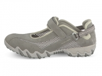 Chaussure all rounder  modele niro nubuck gris clair