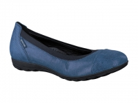 Chaussure mephisto mules modele elettra bleu