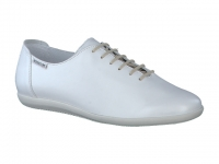 Chaussure mephisto mules modele katie cuir blanc