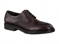 Chaussure mephisto mocassins modele tyron cuir bordeaux