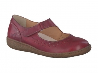 Chaussure mephisto sandales modele enoria perf cuir bordeaux