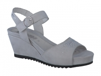 Chaussure mephisto Compensée modele gaby spark gris