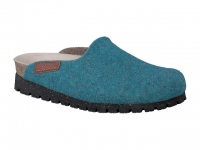 Chaussure mobils mocassins modele thea turquoise