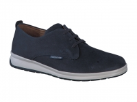 chaussure mephisto lacets lester nubuck marine