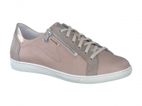 Chaussure mobils Boucle modele hawai cuir lisse gris clair