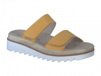 Chaussure mephisto sandales modele dania ocre