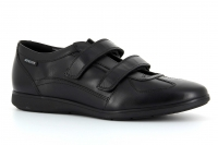 Chaussure mephisto mocassins modele luciano cuir noir