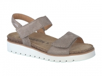 chaussure mobils Compensée thelma tatou beige