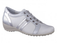 chaussure mephisto lacets luisa blanc