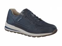 Chaussure mephisto lacets modele bradley cuir marine
