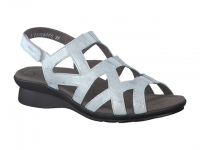 Chaussure mephisto sandales modele pamela cuir argent