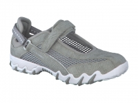 Chaussure all rounder lacets modele niro gris clair