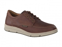 Chaussure mephisto mocassins modele justin cuir noisette