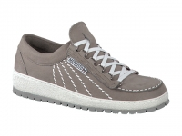 chaussure mephisto lacets rainbow nubuck gris clair