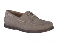 Chaussure mephisto mocassins modele boating nubuck sable