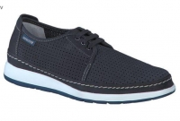 Chaussure mephisto lacets modele harry perf nubuck bleu nuit