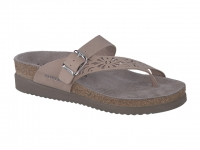 Chaussure mephisto sandales modele helen perf n nubuck taupe clair