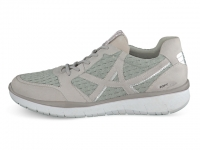 Chaussure all rounder lacets modele lucaya gris clair
