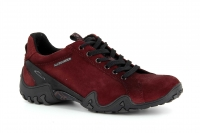 chaussure all rounder lacets funny trend nubuck rouge carmin