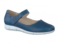 Chaussure mephisto Compensée modele jenyfer bleu