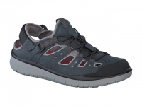 Chaussure all rounder outdoor modele maroon gris