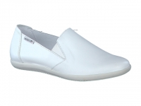 Chaussure mephisto sandales modele korie cuir blanc