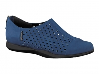 Chaussure mephisto Ballerines modele clemence bleu electrique