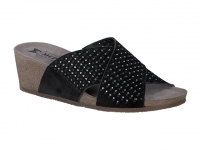 Chaussure mephisto sandales modele melodie spark nubuck noir