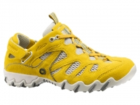chaussure all rounder lacets niwa jaune