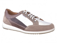 Chaussure mephisto lacets modele nicolas beige