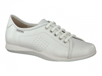 Chaussure mephisto Passe orteil modele cosima cuir blanc