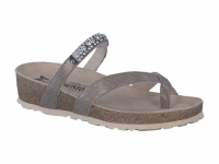Chaussure mephisto velcro modele solaine taupe foncé