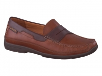 Chaussure mephisto lacets modele tim marron