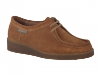 chaussure mephisto lacets christy nubuck brun