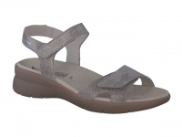Chaussure mephisto sandales modele elya taupe foncé