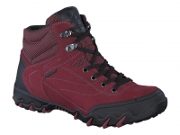Chaussure all rounder velcro modele nigata-tex rouge