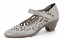Chaussure mephisto Compensée modele macaria cuir vieilli gris
