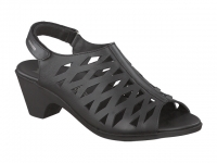 Chaussure mephisto sandales modele candice noir