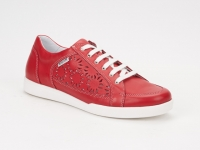 Chaussure mephisto sandales modele daniele perf rouge