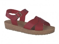 Chaussure mephisto sandales modele candie framboise