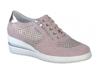 Chaussure mobils lacets modele precilia perf rose
