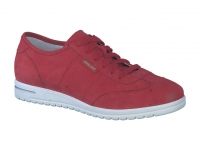 Chaussure mephisto sandales modele jorie rouge