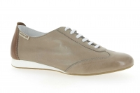 Chaussure mephisto sandales modele becky cuir taupe clair