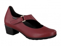 Chaussure mephisto sandales modele ielena rouge carmin