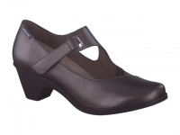 Chaussure mephisto Passe orteil modele madelyn cuir gris foncé