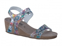 Chaussure mephisto  modele minoa cuir motif multicouleurs